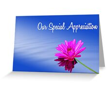 Special thanks Greeting Card