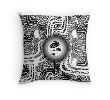 Vision Abstract Throw Pillow