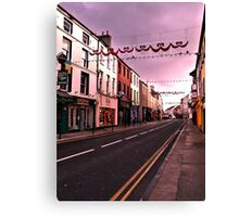 Tralee Rush Hour Canvas Print