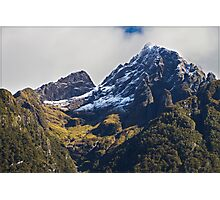 N.Z. Rugged Mountains 03 Photographic Print