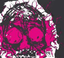 Death's-head fuchsia Sticker