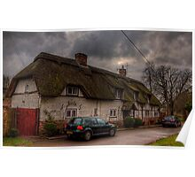 A thatched Cottage in Hampshire Poster