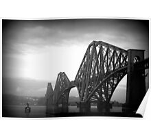 The Forth Bridge (with Lomo effect) Poster