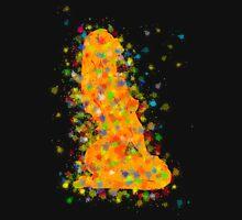 Abstract digital art - Mestinios V1 Unisex T-Shirt