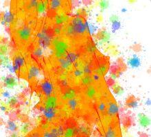 Abstract digital art - Mestinios V1 Sticker