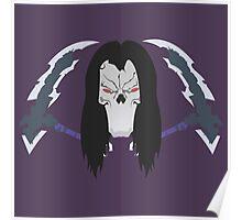Death Darksiders II Minimalistic Design Poster