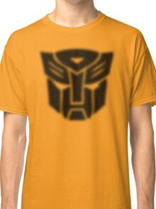Halftone Autobot Symbol, Black Classic T-Shirt