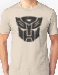 Halftone Autobot Symbol, Black Unisex T-Shirt