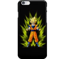 Dragon ball Z: Super Saiyan Goku design iPhone Case/Skin