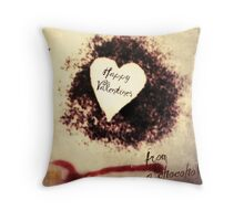 Valentine Surprise Throw Pillow