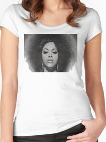 Black Beauty Women's Fitted Scoop T-Shirt
