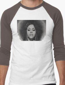 Black Beauty Men's Baseball ¾ T-Shirt
