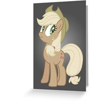 Applejack lies Greeting Card
