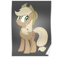 Applejack lies Poster