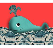 Whale of a Tale Photographic Print