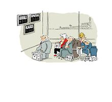 Greeting card for travel. by Peter Kennedy