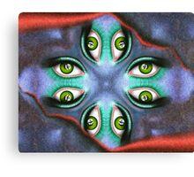 Abstract digital art - Guardinetto V3 Canvas Print