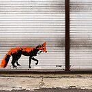 Urban Fox, by Stewy by Nick Coates