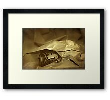 Wrapped Up Framed Print