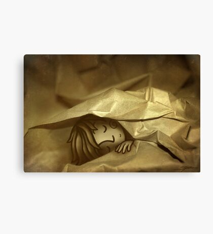 Wrapped Up Canvas Print