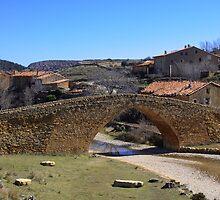 Puente de la Pobleta de San Miguel, La Iglesuela del Cid, Spain by Andrew Jones