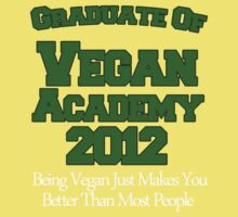 Scott Pilgrim - Vegan Academy Graduation Shirt Kids Clothes