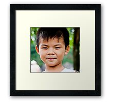 Vietnamese Lad Framed Print