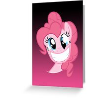 Pinkie Pie Party in my Head no text Greeting Card