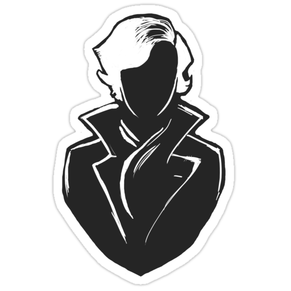 Sherlock Silhouette (Dark Grey) by cumberqueen