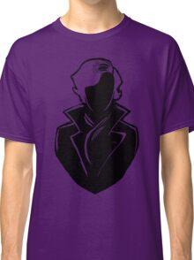 Sherlock Silhouette (Black) Classic T-Shirt
