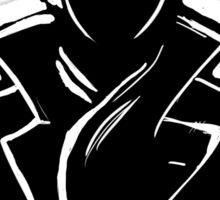 Sherlock Silhouette (Black) Sticker