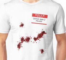 Hi, my name is Officer Alex Murphy Unisex T-Shirt