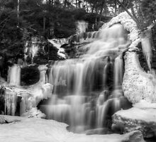 Ganoga Falls in Winter by Murph2010