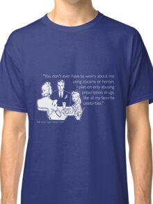 Drug Abuse White Classic T-Shirt