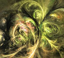 We are not alone by Fractal artist Sipo Liimatainen