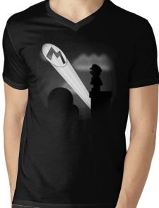 The Plumber Signal Mens V-Neck T-Shirt