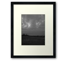 Winter Weather Advisory Framed Print