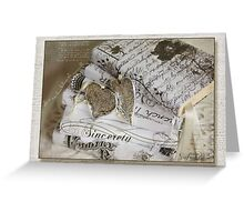 Who so ever loves ...........  Greeting Card