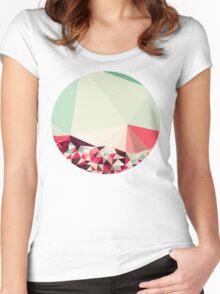 Poppy Field Tris Women's Fitted Scoop T-Shirt