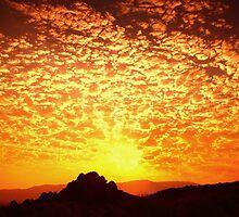 Northern Nevada Sunrise by SB  Sullivan