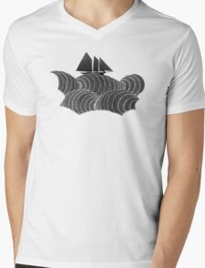 The Ancient Sea Mens V-Neck T-Shirt