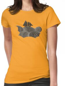 The Ancient Sea Womens Fitted T-Shirt
