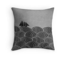 The Ancient Sea Throw Pillow