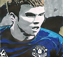 Seamus Coleman Everton Comic Book Image by chrisjh2210