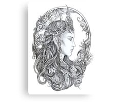 Elven Queen Canvas Print