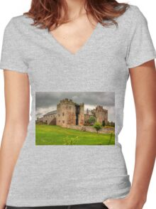 Blencowe Hall Women's Fitted V-Neck T-Shirt