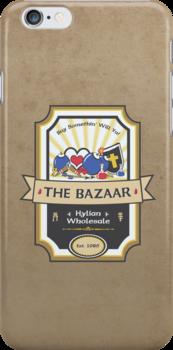 The Bazaar - Zelda by thehookshot