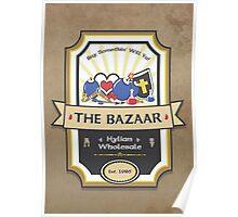 The Bazaar - Zelda Poster