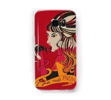 Lady Pizza Samsung Galaxy Case/Skin