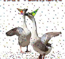 HAPPY BIRTHDAY! Celebrating Geese by Gravityx9